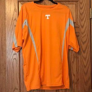 Pro Edge Orange Tennessee Volunteers Dri-Fit Top